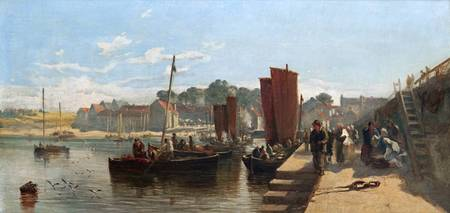 Samuel Bough - Port Glasgow Harbour 1853