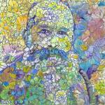Floral Monet Flower Bear by RD Riccoboni