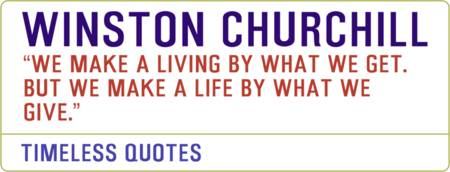 Motivational Quotes - WINSTON-CHURCHILL