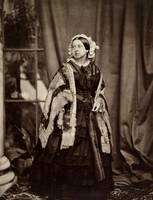 Queen Victoria photographed by John Jabez Edwin Ma