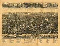 Aerial View of Tallapoosa, Georgia (1892)