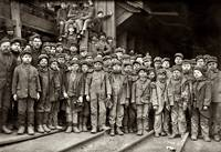 Youthful Mining Crew at Pennsylvania Coal Company'