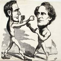 Morse. [Abraham Lincoln boxing with Jefferson Davi