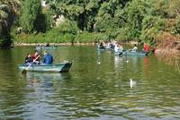 Boating lake, Barcelona