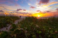Sunrise at Fort Pierce, Florida
