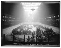 6 Day Bike Race, Madison Sq. Garden, c. 1900