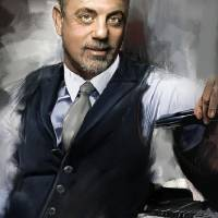 Billy Joel Art Prints & Posters by Melanie D