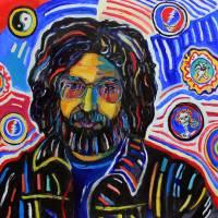 """""""Portrait of Jerry Garcia"""" by DavidNoahGiles"""