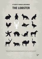 No939 My The lobster minimal movie poster