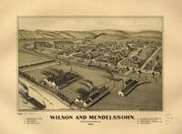 Aerial View of Wilson and Mendelssohn, Pennsylvani