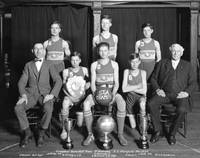 Crusaders Basketball Team, St. Andrews - B.C. Cham