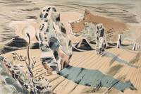 Paul Nash (1889-1946) - Landscape of the Megaliths