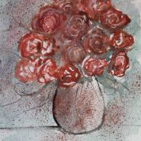 rose bouquet still life Art Prints & Posters by Derek McCrea