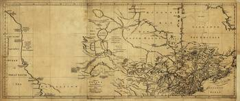 Map of Canada by Thomas Jefferys (1768)