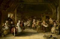 Sir David Wilkie (1785-1841) - The Penny Wedding