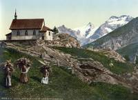 Switzerland, 1890, Switzerland, 1890, The Rhone Gl