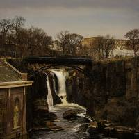 Paterson Falls 5 Art Prints & Posters by Louise Reeves
