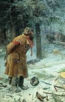 Vasily Maximovich Maximov - Forest Keeper, (1893).