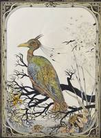 VINCENT CARTWRIGHT VICKERS (1879-1939) GOOGLE BIRD