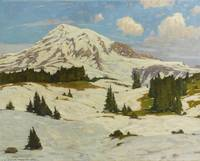 William Wendt 1865 - 1946 TAHOMA, THE ETERNAL