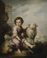 murillo el buen pastor, Christ the Good Shepherd,