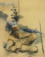 Mountain Man , Charles Schreyvogel.Jpeg