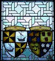 Stained glass window-Edinburgh Castle