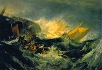 The shipwreck of the Minotaur, JMW Turner