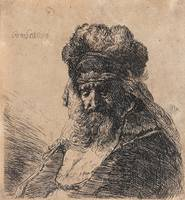 REMBRANDT HARMENSZ VAN RIJN, Old Bearded Man in a