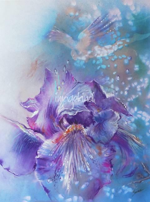 Iris in her Garden