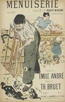 Sheet Music Menuiserie by Emile André and Th. Brue