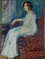 Richard Gerstl - Portrait of Henryka Cohn (1908)
