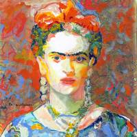 """""""Orange Frida"""" by RDRiccoboni"""