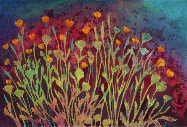A Poppy Tapestry