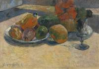 Paul Gauguin 1848 - 1903 NATURE MORTE AUX MANGOS E