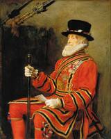 Sir John Everett Millais - The Yeoman of the Guard