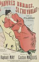 Sheet music Pauvres hommes, si l'on voulait! by Ra