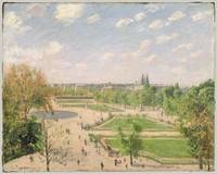 The Garden of the Tuileries on a Spring Morning ,