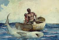 Winslow Homer - Shark Fishing (1885)
