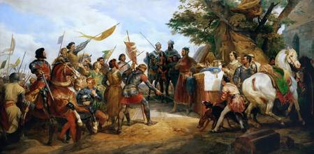 Vernet, Horace - Before the Battle of Bouvines Jul
