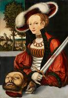 Lucas Cranach the Elder, studio of, Judith with th