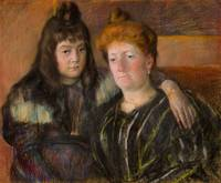 Madame Gaillard and Her Daughter Marie-Thérèse , M