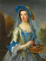 MRS KNIGHT MID-CENTURY ENGLISH ROCOCO STYLE (GEORG