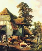 Thomas Sidney Cooper - A Farm in Kent