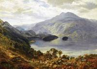 Samuel Bough - The Highland Shoot 1864