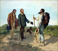 The Meeting, Bonjour Monseiur Courbet. Gustave Cou