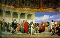 Paul Delaroche - Hemicycle of the Ecole des Beaux