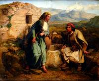 Paul Falconer Poole - Greek Shepherd and Maiden by