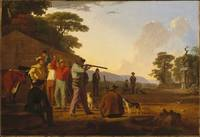 Shooting for the Beef George Caleb Bingham