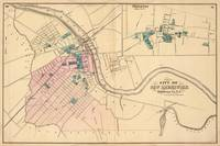 Vintage Map of New Brunswick NJ (1872)